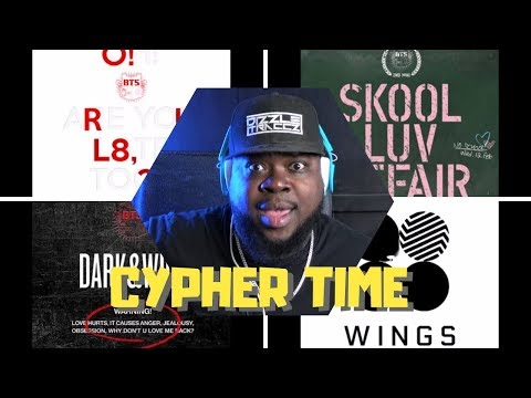 BTS Cypher 1 2 3 And 4 Reaction