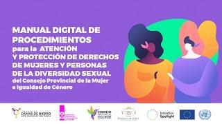 EN VIVO. Presentan Manual Digital Procedimientos para la Atención y Protección de Mujeres y Personas de la Diversidad