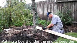 How to Remove Metal Fence Posts or Tree Stakes