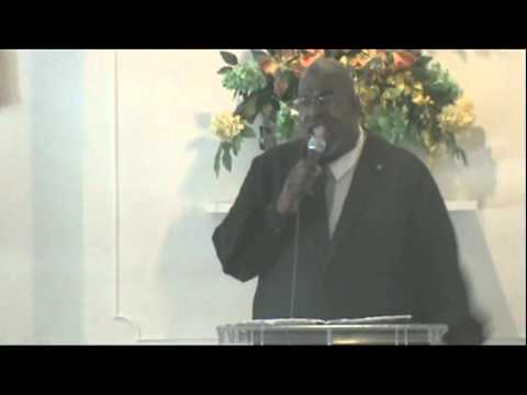 Minister Thomas Lee Bowman at CRM