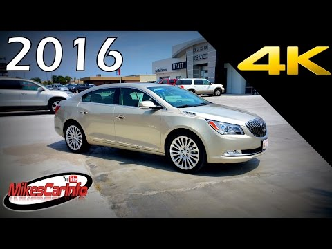 2016 Buick LaCrosse Premium 2 - Ultimate In-Depth look in 4K