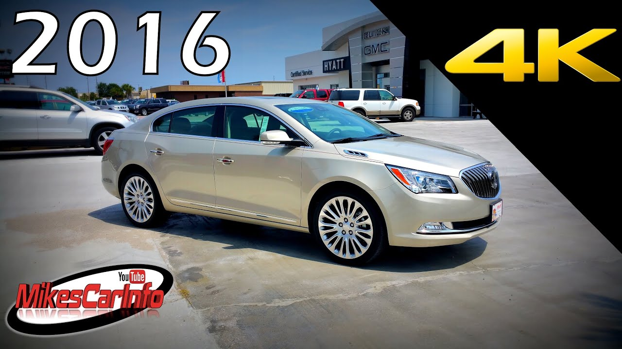 2016 Buick Lacrosse Premium 2 Ultimate In Depth Look In