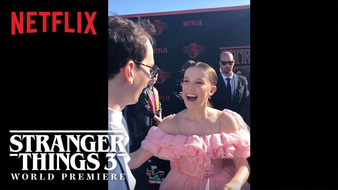 The Curiosity Carpet with Mr  Clarke | Stranger Things 3 Premiere | Netflix