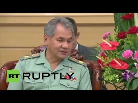 China: Shoigu praises 'historic' Russian-Chinese ties ahead of WWII parade