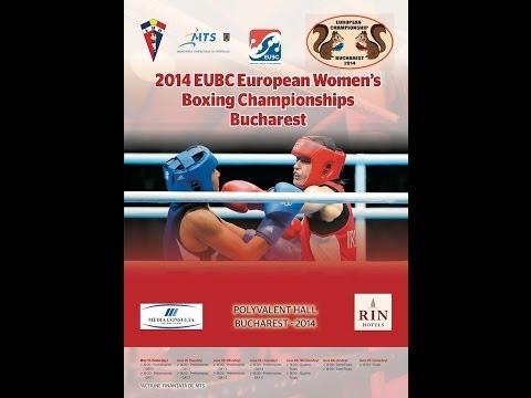 EUBC Euro Women's Boxing Championships #Bucharest2014 FINALS