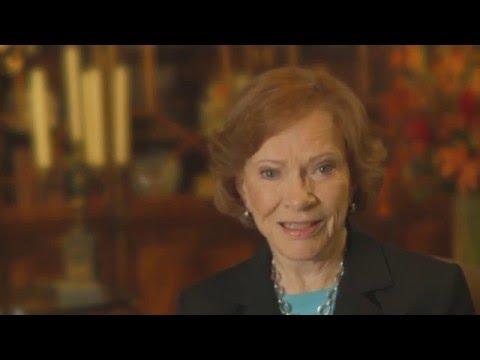 Former First Lady Rosalynn CarterPatricia Bethune  RCI PSA