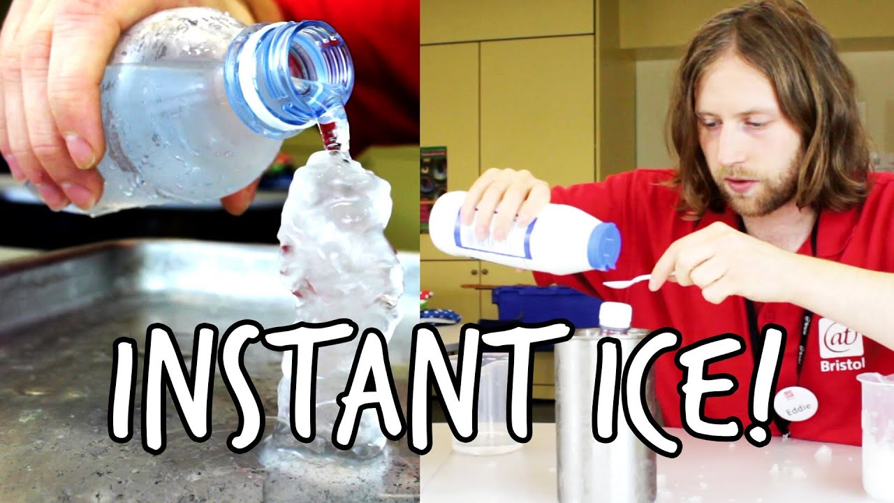 How to make instant ice | Do Try This At Home! | We The Curious