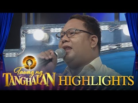 Tawag ng Tanghalan: Daily contender Arnold's message for the students
