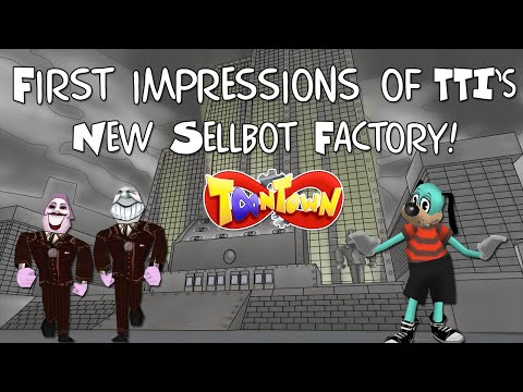 TTI's NEW Sellbot Factory!! First Impressions (Toontown Infinite)