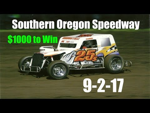Southern Oregon Speedway $1000 to Win 9-2-17