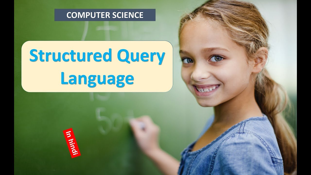 Structured Query Language in HINDI