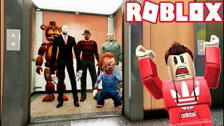 ULTIMATE HORROR ELEVATOR IN ROBLOX!