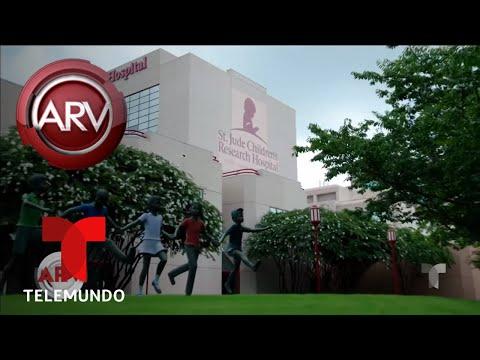 La emotiva visita al Hospital St. Jude de Memphis | Al Rojo Vivo | Telemundo
