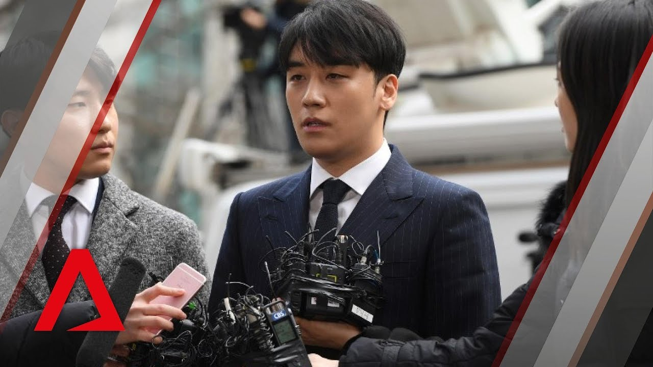 San Francisco 9f687 6becb K pop stars Jung Joon young, Seungri arrive at police station for  questioning