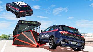 Police Car Chases #36 - BeamNG DRIVE | SmashChan