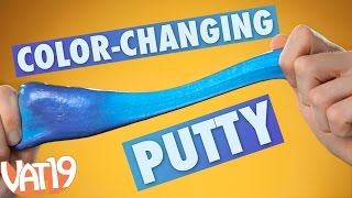 Heat Sensitive Thinking Putty Changes Color thumbnail
