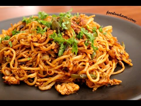 Chinese Egg Noodles-street food