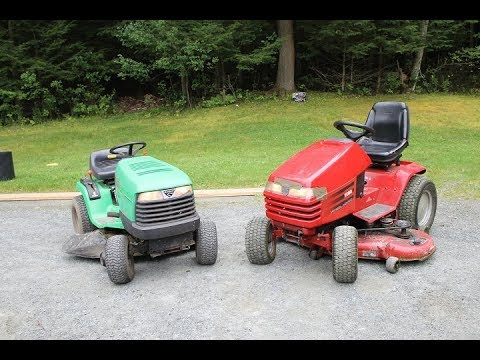 John Deere vs. Toro (The 20 year old tractor battle)