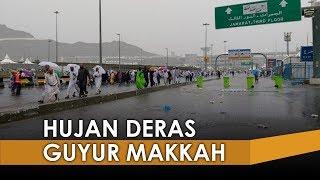 Makkah Hujan Deras, Banjir Dan Tenda Jemaah Haji di Mina Bocor