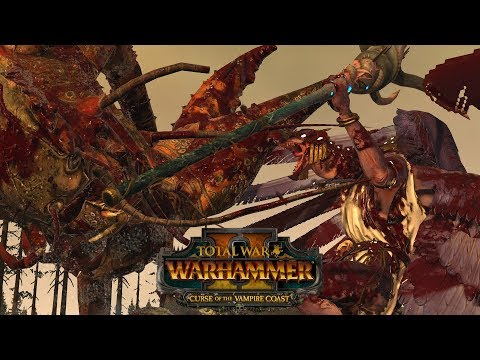 CHICKEN & CRAB - Vampire Coast vs Chaos // Total War: Warhammer II Online Battle