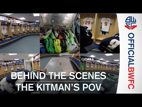 GOPRO SPECIAL | Pre-match prep with the Bolton Wanderers kitman