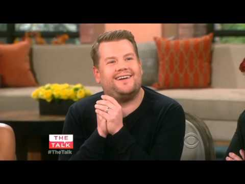 James Corden on The Talk (Mar 16th, 2015)