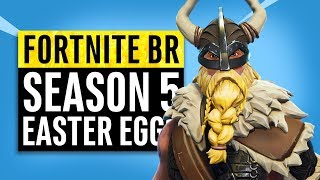 Fortnite Battle Royale | Season 5 Easter Eggs, Memes and Story Recap