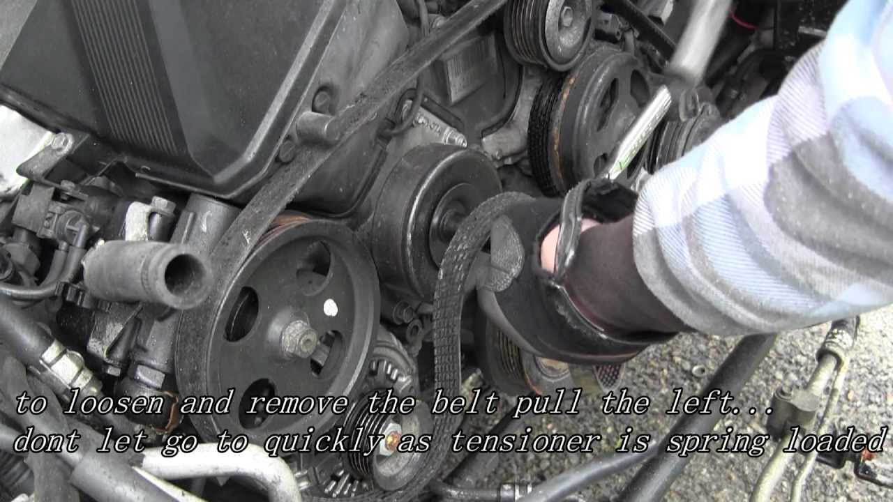 How To Change your Serpentine Belt  YouTube