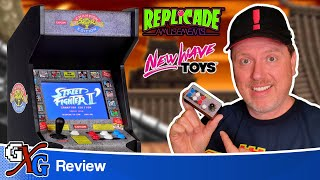 Street Fighter 2 RepliCade Mini Arcade Review | New Wave Toys