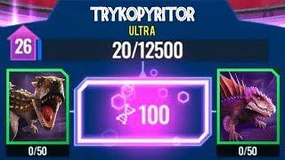 ULTRA HYBRIDS UPDATE!!! FUSING UNIQUES!!! (JURASSIC WORLD ALIVE)