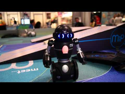 WowWee, MiP Robot At Toy Fair NY