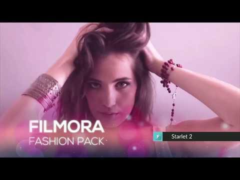 Collezione Fashion  Negozio Effetti Filmora
