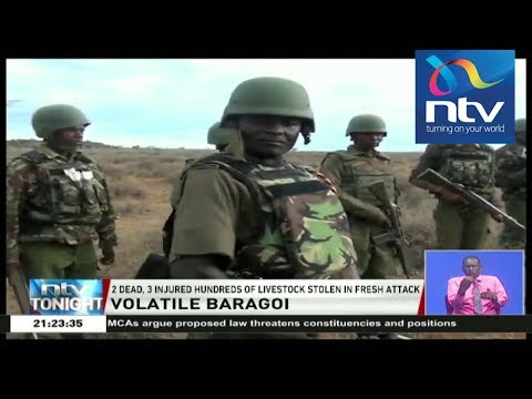 Two dead, three injured, hundreds of livestock stolen in fresh Baragoi attack