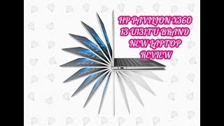 HP PAVILION X360 13-U131TU BRAND NEW LAPTOP REVIEW HP Pavilion x360 Laptop HP Laptop