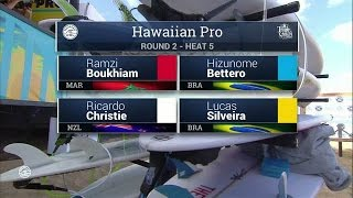 2016 Hawaiian Pro: Round Two, Heat 5