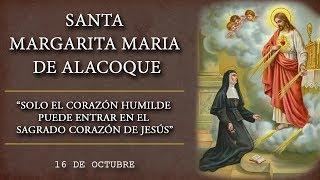 Padre Arturo Cornejo: Santa Margarita María De Alacoque