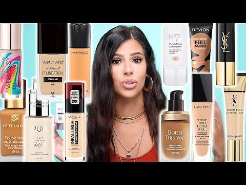 BEST AND WORST FOUNDATIONS FOR OILY SKIN | DRUGSTORE AND HIGH END. thumbnail