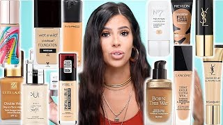 BEST AND WORST FOUNDATIONS FOR OILY SKIN | DRUGSTORE AND HIGH END.