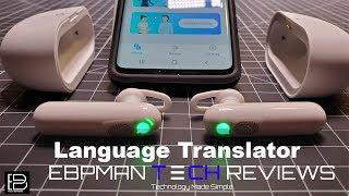Speak 36 Languages! Wearable Language Translator Device WT2