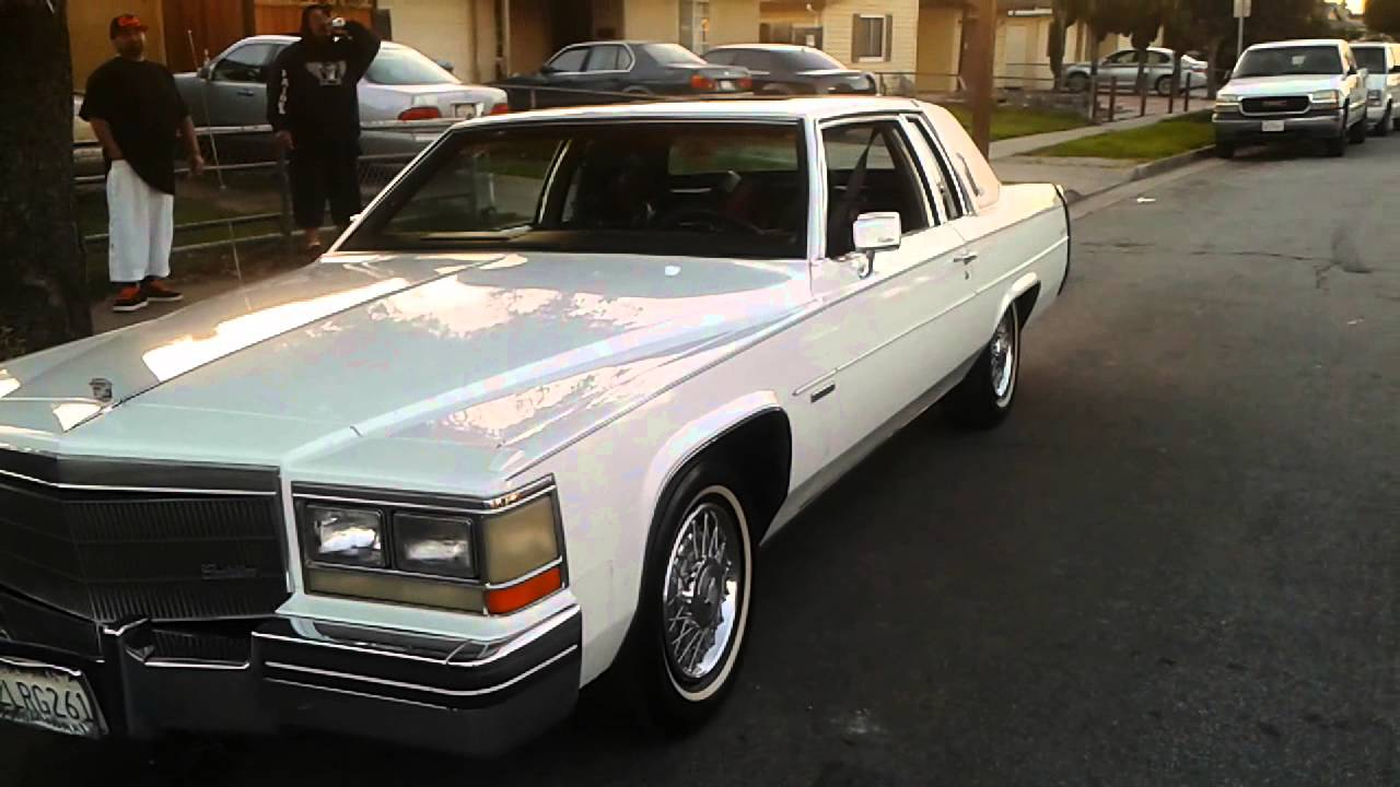 1983 Cadillac Coupe DeVille D'elegance - YouTube