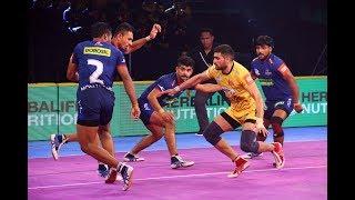 Pro Kabaddi 2018 Highlights: Telugu Titans vs Haryana Steelers