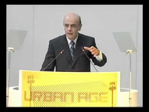 Urban Age São Paulo'08: #12 José Serra A Vision for São Paulo