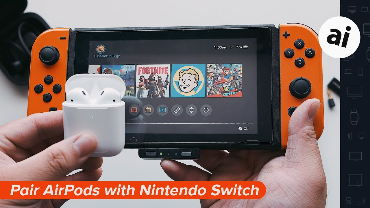 Airpods On Nintendo Switch Youtube