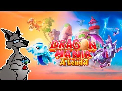 Dragon Mania: A Lenda ( Gameplay / Review / Análise ) ( iOS / Android