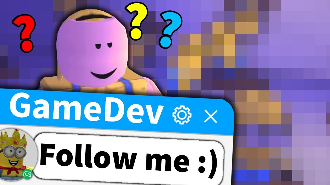 Roblox game developer made something really weird for me
