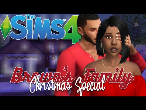 The Sims 4 | Brown's Family Christmas Special