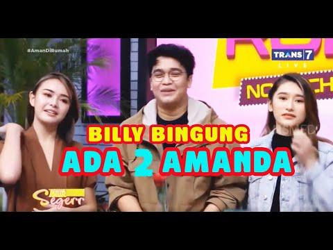 Billy PUCAT PASI, Ada 2 Amanda!  | SAHUR SEGERR (18/05/20) Part 2