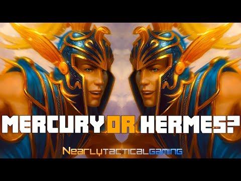 Smite Mercury God Mythology & Lore
