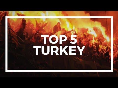 TOP 5 ULTRAS - TURKEY