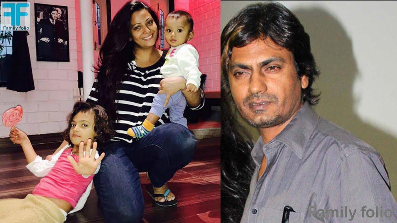 Nawazuddin Siddiqui with wife and daughters । Nawazuddin ...